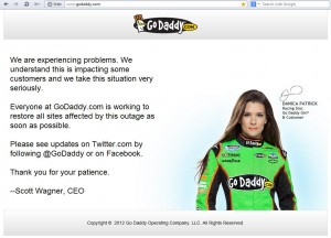 GoDaddy-down-outage
