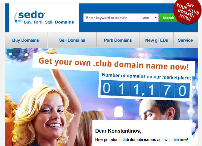 sedo-club-domains