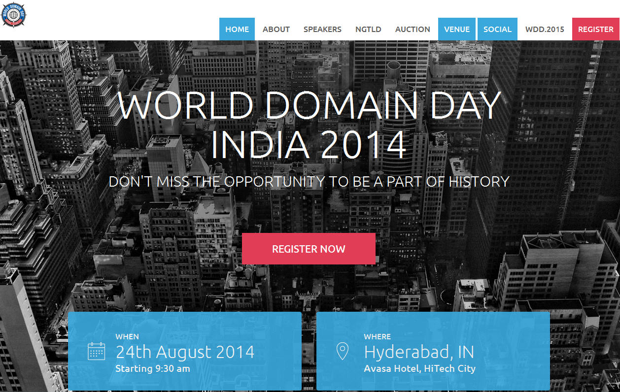 "New Asian Domain Conference, ""World Domain Day"", Features ..."