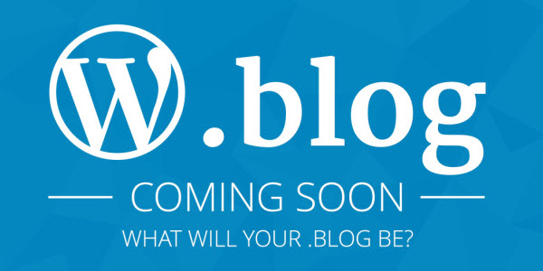 WordPress To Operate .Blog New Top Level Domain Extension, Launching In November 2016 - OnlineDomain.com