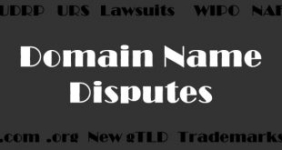 domain name disputes