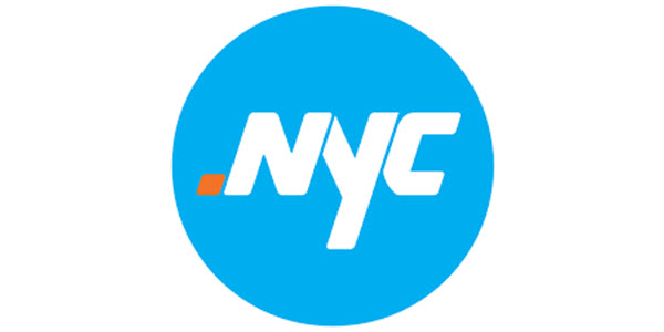Results of the tech .nyc domain name auction: web .nyc $8,638, startup .nyc $3,300