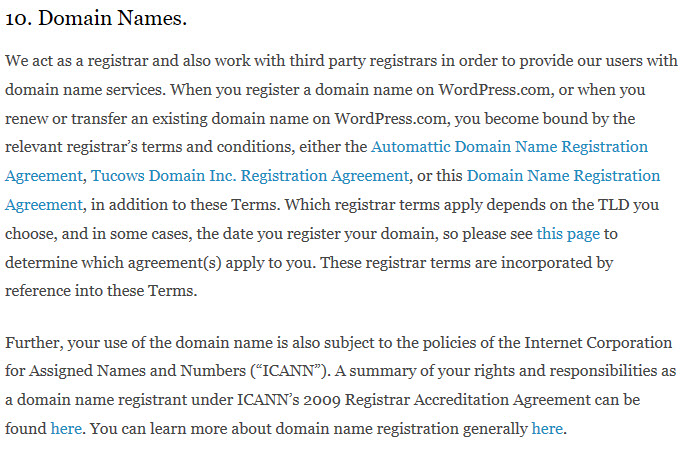 Wordpress Recommends You Get A Domain Name Onlinedomain