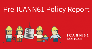 The ICANN 61 Public Meeting takes place from 10-15 March 2018 in San Juan,  Puerto Rico. This six-day meeting will be focused on outreach, capacity  building, ...
