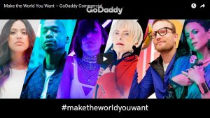 GoDaddy - make the world your own