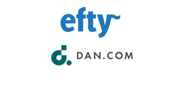 Coming soon: Efty.com marketplace and DAN.COM integration