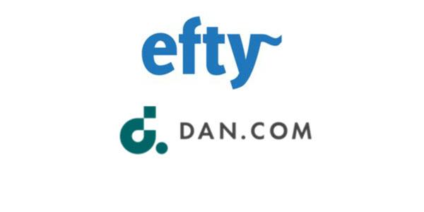 Efty announces more Dan.com integrations