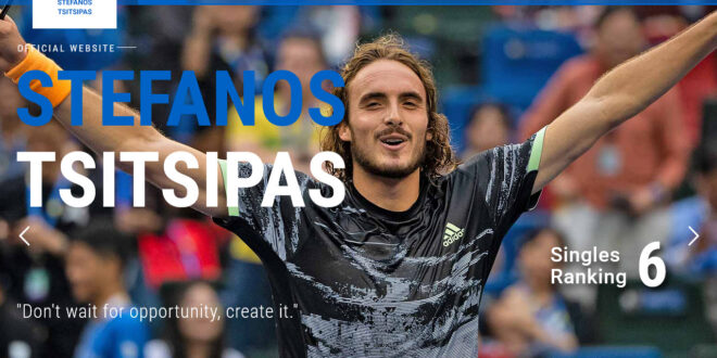 Stefanos Tsitsipas wants to destroy whoever bought his domain name! (video)