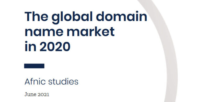 The global domain name market in 2020